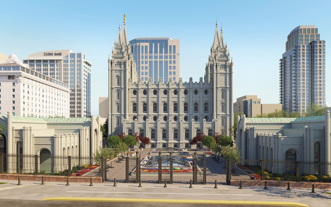 Salt Lake Temple to Close, Temple Square to be Remodeled