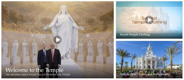 Learn More About Latter-day Saint Temples Online