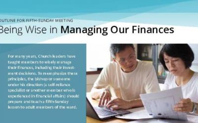 Being Wise in Managing Finances