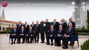 "Apostles Testify of ""The Living Christ"" in New Video"