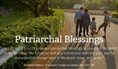 Request a Digital Copy of Your Patriarchal Blessing