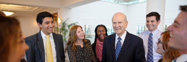 President Russell M. Nelson Speaks to Young Adults in Worldwide Address