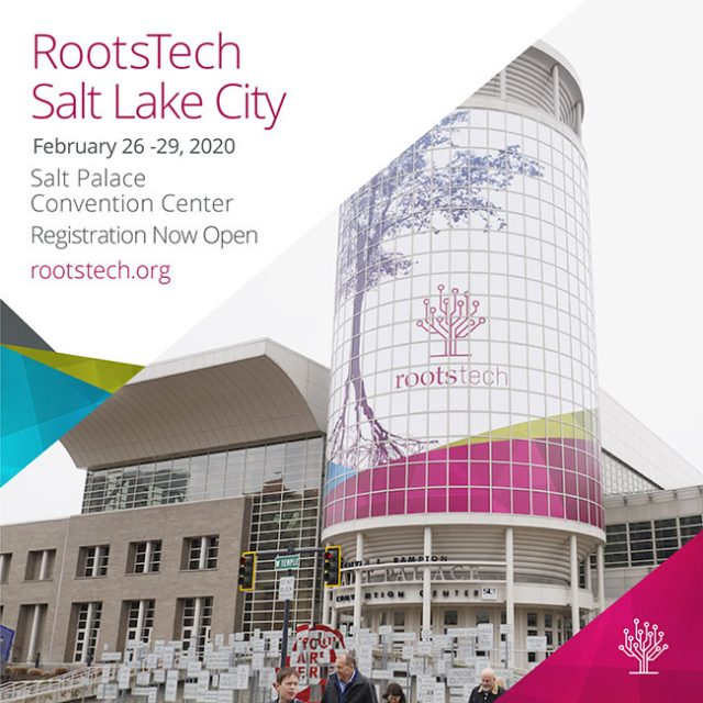 Discount Tickets for RootsTech 2020, Registration Now Open