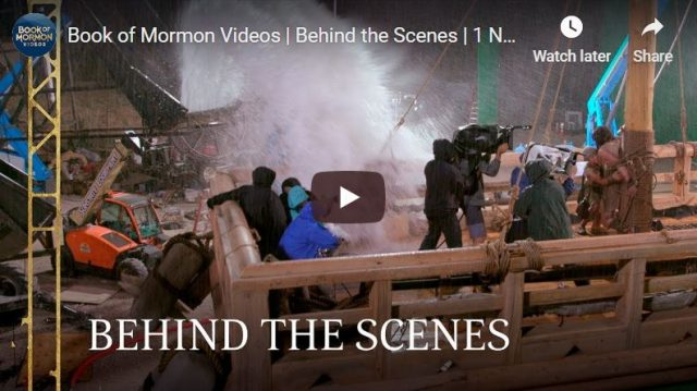 Behind-the-Scenes Look at Book of Mormon Videos