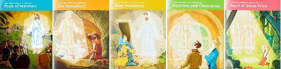 Scriptures Stories Coloring and Activity Books