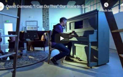 """David Osmond: """"I Can Do This"""" Our Voice In Song"""
