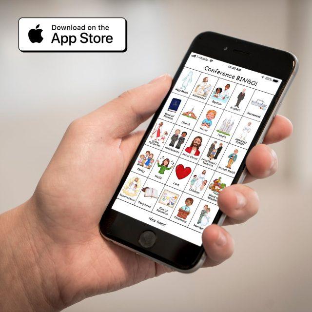 General Conference Bingo Mobile App
