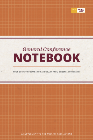 General Conference Notebook, October 2019