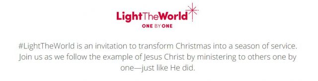 6 Ways to Accept the #LightTheWorld 2019 Invitation