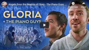 Christmas Music Video: Angels from the Realms of Glory by The Piano Guys, Peter Hollens, David Archuleta