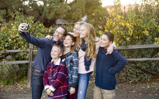 family-taking-selfie