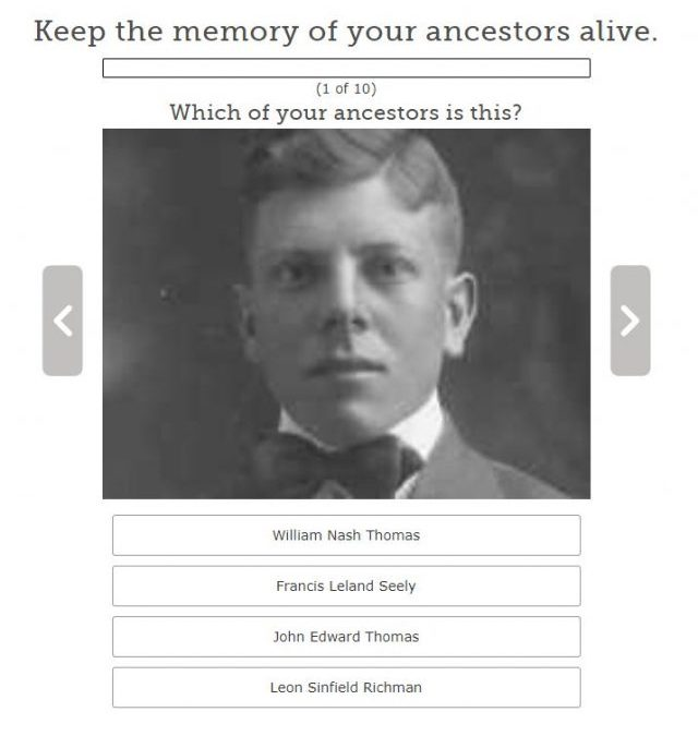 FamilySearch Game: Keep the Memory of Your Ancestors Alive