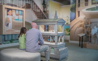 Interactive Temple-Themed Exhibit at Church History Museum