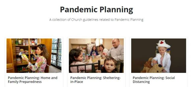 Church Publishes Pandemic Planning Guidelines