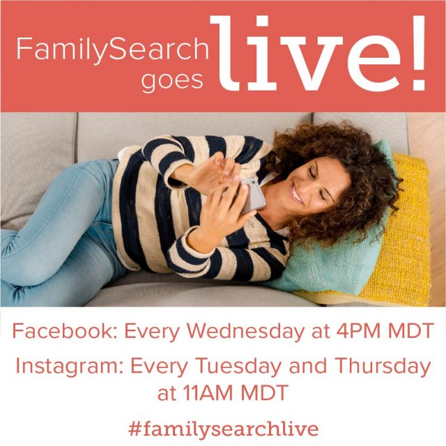 FamilySearch Livestreams Helps You Connect on Social Media