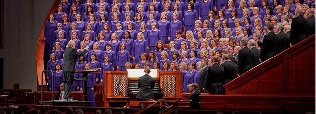 Sheet Music from General Conference Now Available to Ward Choirs