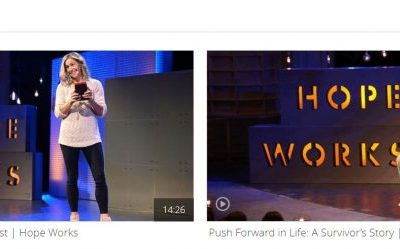 """""""Hope Works"""" Videos Share Stories of Faith and How to Overcome Challenges"""