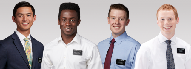 Exceptions to Dress Standards for Young Missionary Elders