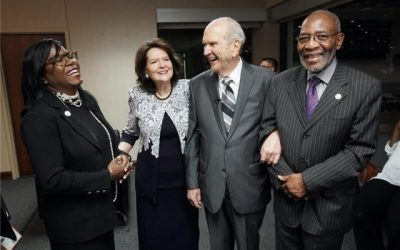 Prophet Joins NAACP Leaders in Call for Racial Harmony in America