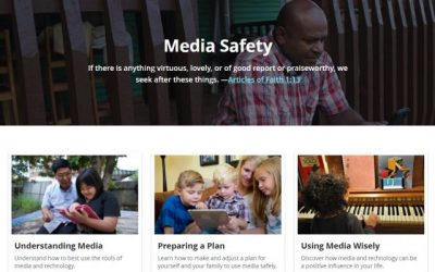 Church Publishes Media Safety Website