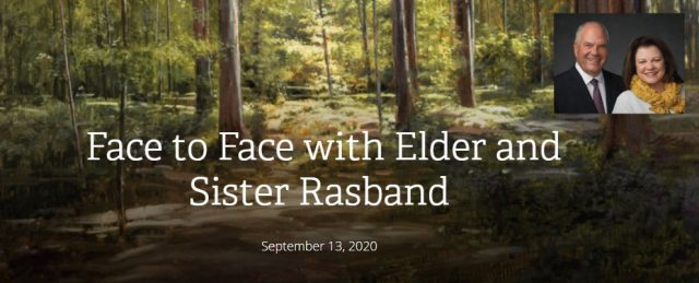 Ask Elder Rasband Your Questions about the Restoration