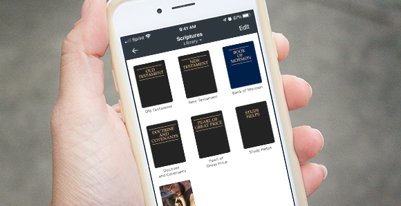 Listen to Anything in the Gospel Library With Text-to-Speech
