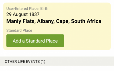 Volunteer to Help Improve Place-Names on FamilySearch