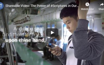 Shareable Video: The Power of #Scriptures in Our Lives
