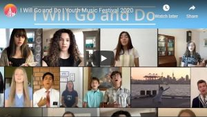 Youth Video: I Will Go and Do