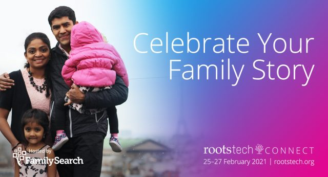 RootsTech 2021 Will Be a Free, Virtual Worldwide Event Feb. 25–27, 2021