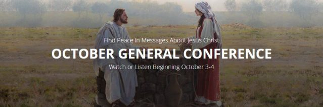 8 Ways to Watch General Conference: October 3-4, 2020