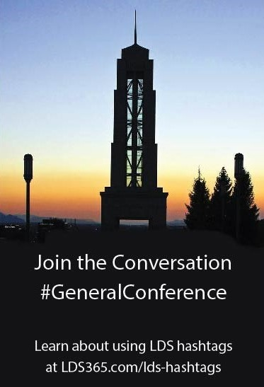 Hashtags and URLs for General Conference