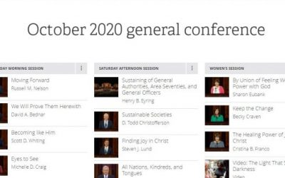 Text of October 2020 General Conference Now Online