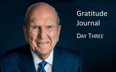 Gratitude Journal #3