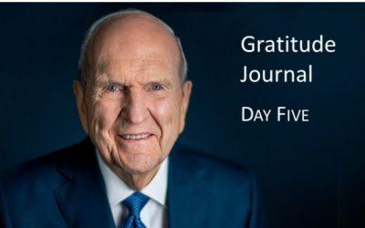 Gratitude Journal #5