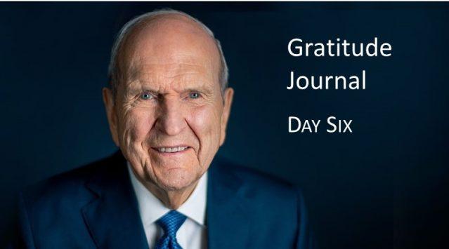 Gratitude Journal #6