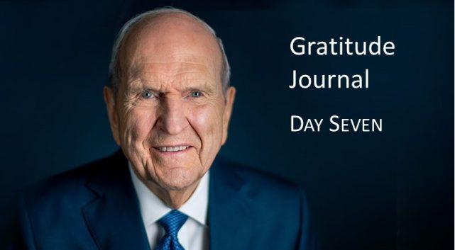 Gratitude Journal #7