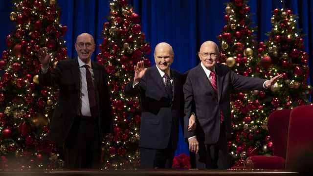 First Presidency Christmas Devotional, December 6, 2020