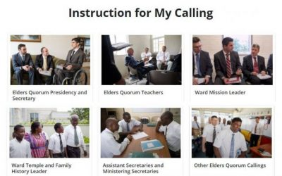 Resources to Use When Calling Members to New Callings