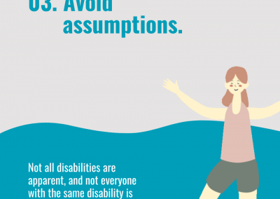 6 ways to support disabilities