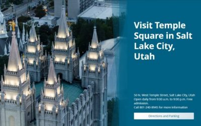 New Website for Temple Square at TempleSquare.com