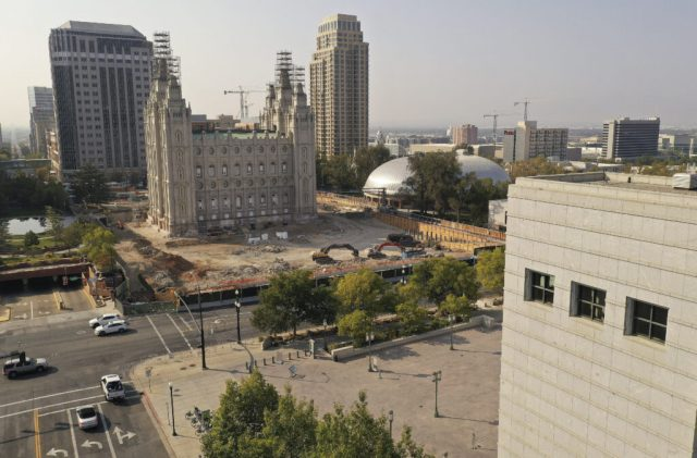 5 Buildings on Temple Square Reopen Today