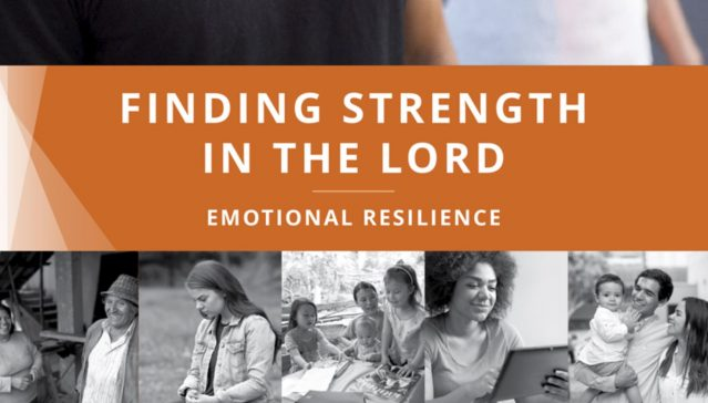 Church Releases New Emotional Resilience Manual