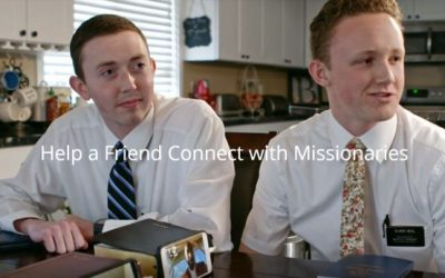 Help a Friend Connect With Missionaries