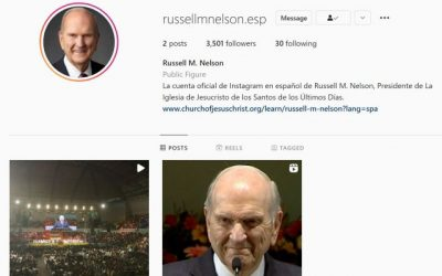 President Nelson Launches Instagram Account in Spanish
